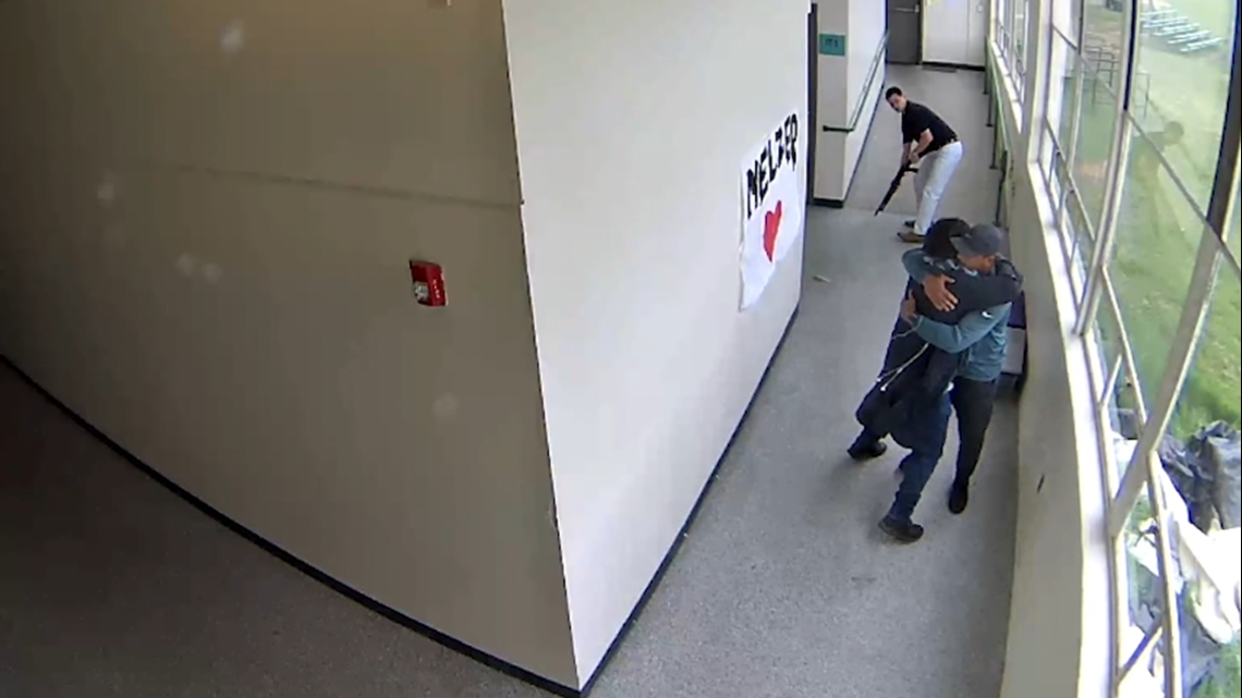 Watch: Powerful video shows Keanon Lowe hugging Parkrose student moments after disarming him