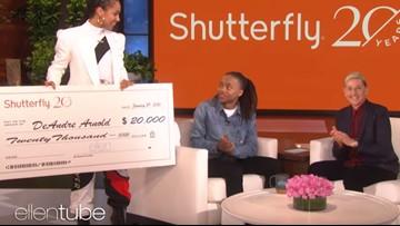 On Ellen show, Alicia Keys delivers $20K to Mont Belvieu teen who refuses to cut his dreadlocks