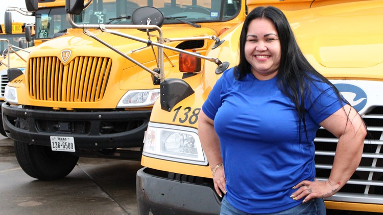 Texas bus driver hasn't missed a single day of work in 20 years