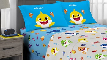 Baby Shark bedding is now available – the viral hit hasn't run its course yet, folks!