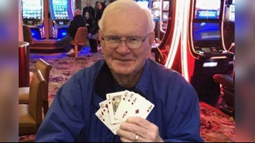 Man learns his wife is cancer free, then wins $1 million on $5 poker bet