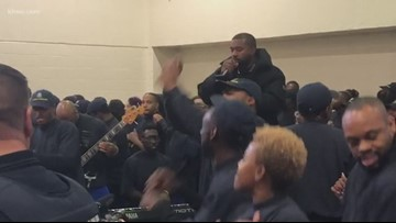 'This is a mission, not a show'   Kanye West visits Harris County Jail ahead of Sunday's Lakewood appearance