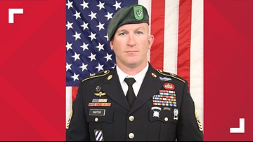Decorated US service member killed in action in Afghanistan was from Teague, Texas