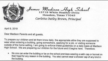 No pajamas, no shower caps: Texas high school enforces 'parent dress code'