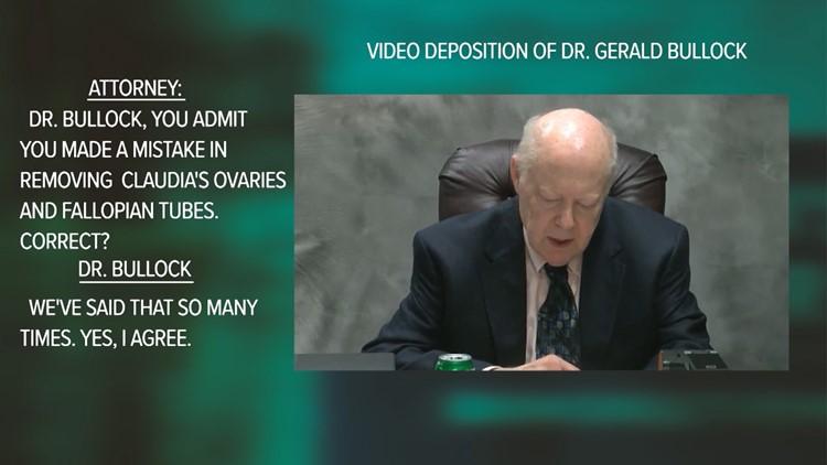 Dr. Gerald Bullock deposition