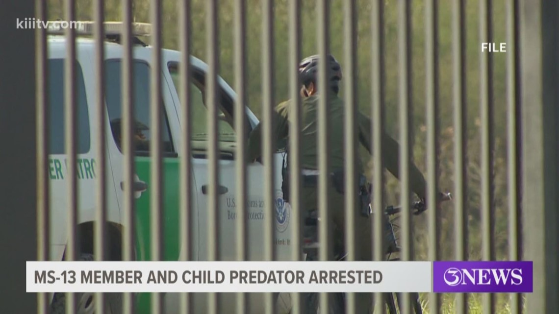 MS-13 member, child predator arrested by Border Patrol