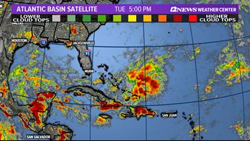 Weak tropical disturbance threatens Texas coast