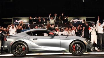 First 2020 Toyota Supra sells for $2.1 million Arizona auction
