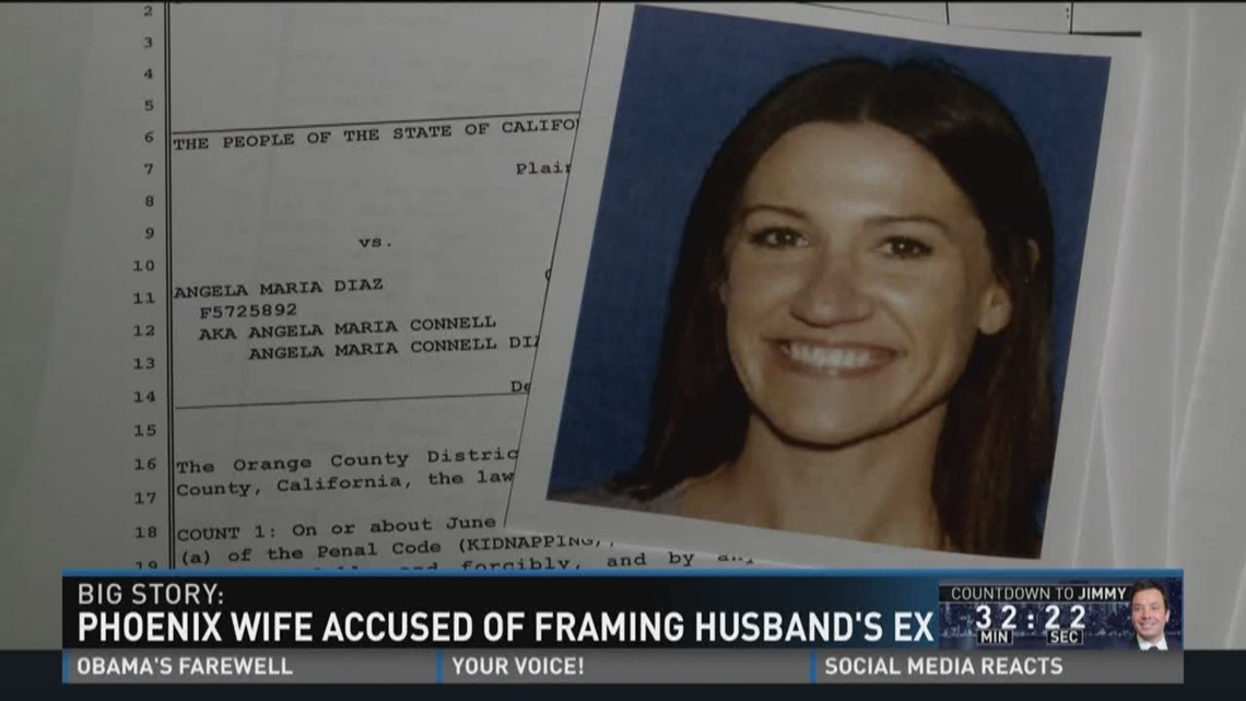 Phoenix Wife Accused Of Framing Husbands Ex Wltxcom