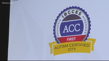 Arizona city certified as first-ever Autism-Friendly City in the world
