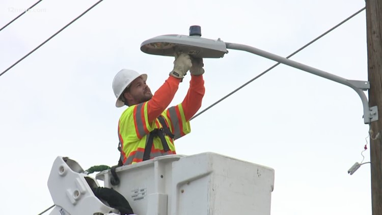 City to save thousands with LED street lights