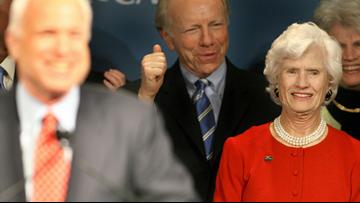 Sen. John S. McCain III survived by his mother Roberta, 106