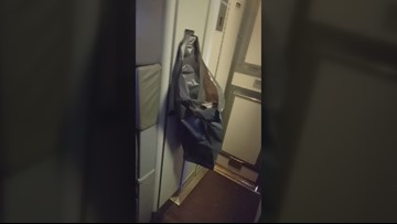 'What do you mean I have to pee in a bag?': Flushed diaper causes problems on plane