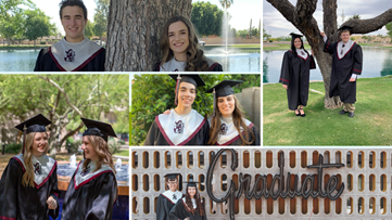 Five sets of twins, three valedictorians, one graduating class