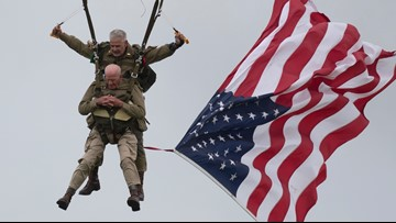 97-year-old veteran parachutes into Normandy 75 years after D-Day