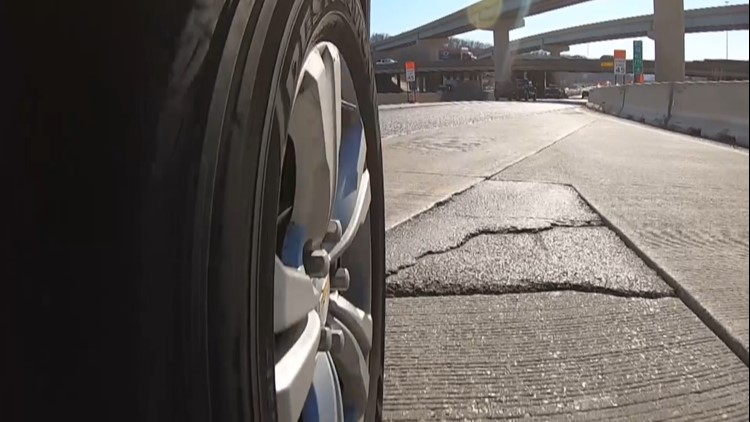 Highway pothole takes out 6 cars in one morning, drivers left with the bill