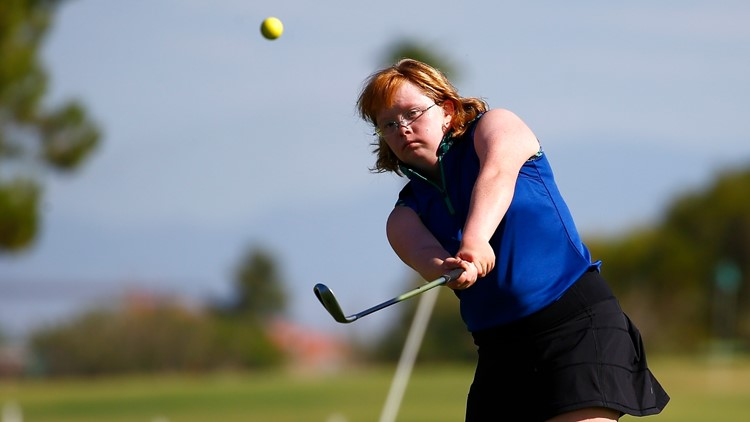 Amazing Amy, golfer with Down syndrome, to play for junior college national championship