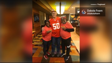 Chiefs fan drives player's grandparents from STL to KC so they wouldn't miss the game