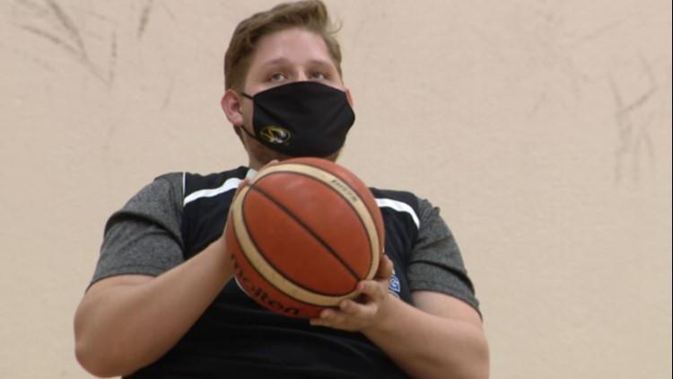 'I don't like to let my wheelchair define me' | Local athlete takes basketball talents to Mizzou