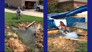 Man 'opens waterpark' to solve dispute with neighbor, post goes viral
