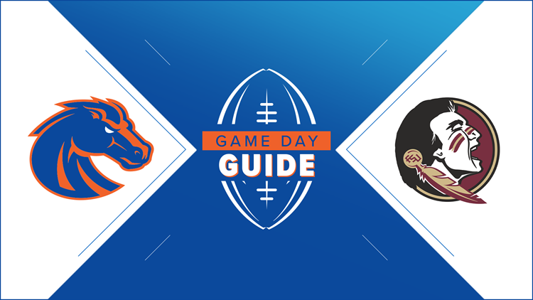 GAME DAY GUIDE: Boise State vs  Florida State | wltx com