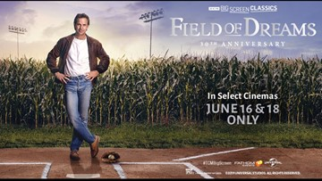 'Field of Dreams' is back in theaters on Father's Day weekend