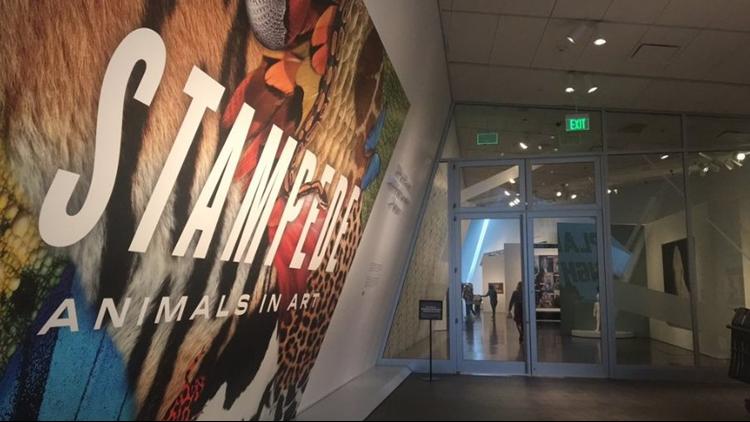 Man throws sculptures, shatters displays inside Denver Art Museum, police say