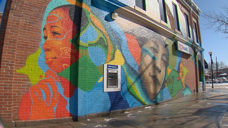 Dr. Justina Ford Mural 27th and Welton St.