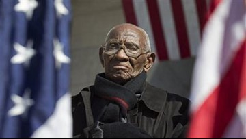 Richard Overton, America's oldest living WWII veteran, released from hospital, moved to rehab