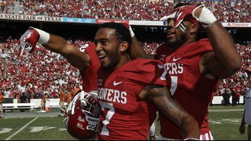 Oklahoma Sooners will not do 'Horns Down' symbol in 2019 Red River Showdown, Riley says