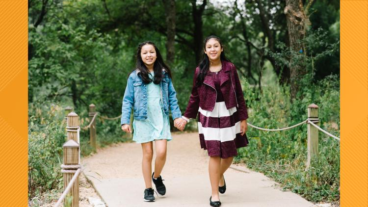 Texas sisters on a journey to find an adoptive family who will bring them together