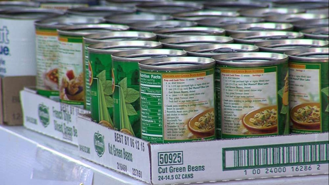 Cans at the mailbox: Harvest Hope collecting donations this