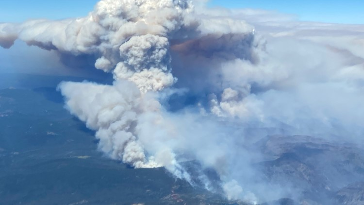 New evacuation order for Dixie Fire issued in Plumas County   Maps, evacuations and updates