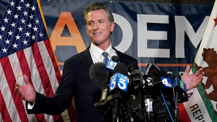 California Governor staves off recall election