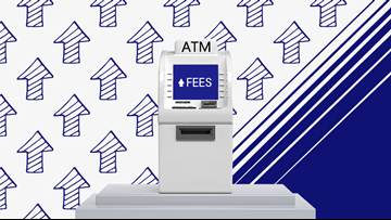 Survey: Rising ATM and overdraft fees leave consumers paying much more than they did 20 years ago