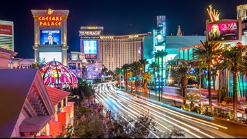 Getting to Las Vegas on points and miles