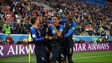 France knocks off Belgium to reach World Cup final