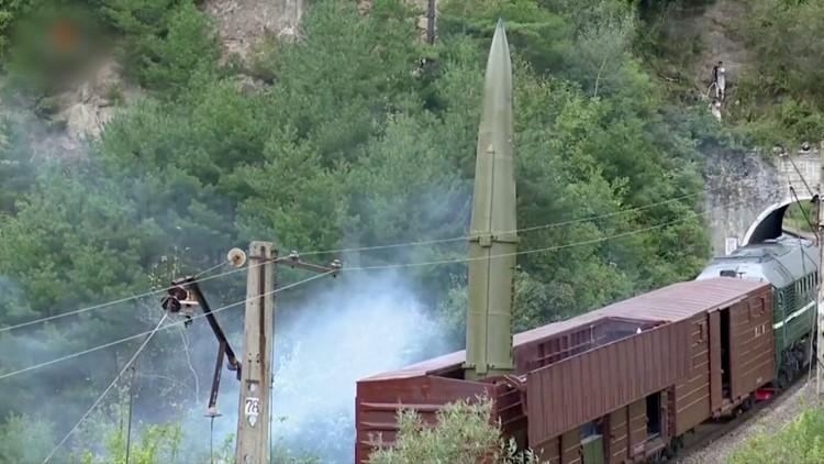 North Korea Said It Tested Railway-Borne Missile System