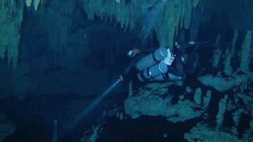 Technology Uncovers Secrets, Helps Protect Ancient Underwater Mayan Sites
