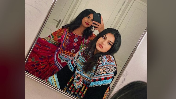 Afghan Women Abroad Protest New Taliban Rule by Posting in Colorful Attire