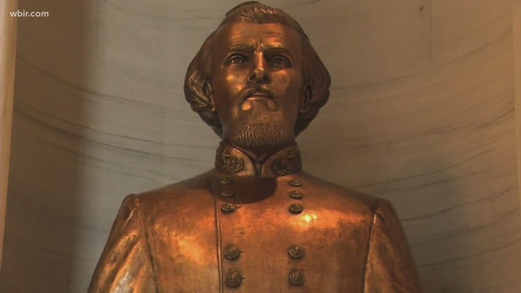Tennessee panel votes 25-1 to move Confederate bust in state Capitol
