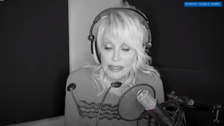 Dolly partners to bring more awareness to breast cancer in new song