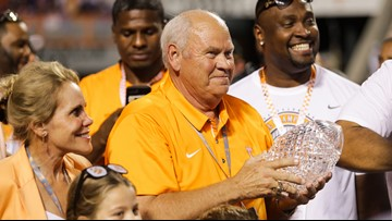 Tennessee self-reports minor NCAA violations, including Fulmer briefly coaching linemen