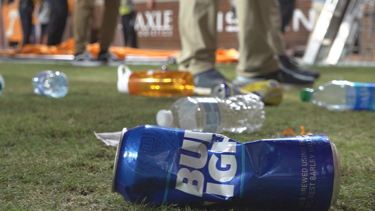 18 arrested, 51 ejected Saturday as UTPD works to identify fans who threw trash at Neyland Stadium