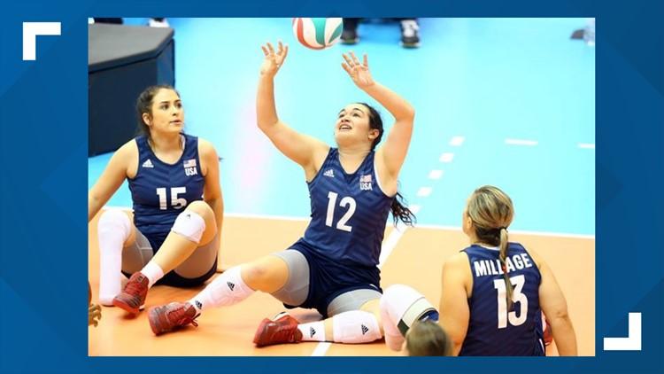 Schieck, U.S. women strike gold in sitting volleyball at Tokyo