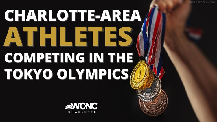 Charlotte-area athletes competing in Tokyo Olympics