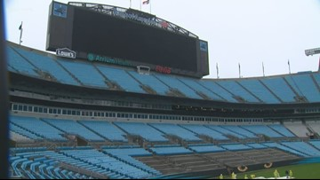The Panthers are removing hundreds of seats for field-level suites.