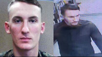 'Armed and dangerous' Marine deserter sought in fatal shooting could be in NC, deputies warn