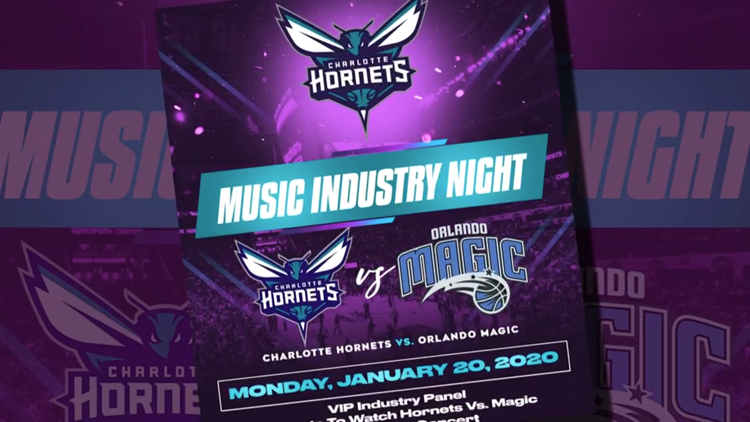 NBA's first-ever music industry night to be held in Charlotte