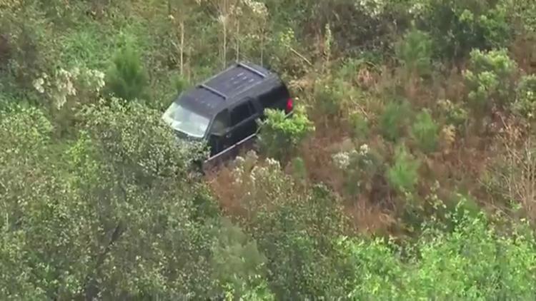 Stolen SUV Found 11